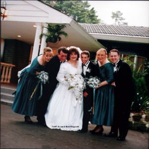 1997 our wedding